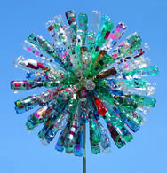 Dandelion wind sculpture